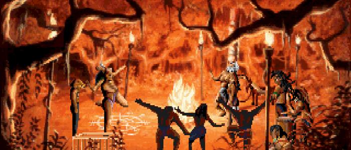 Voodo ritual on Saint's John Eve.