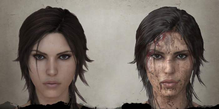 The new Tomb Raider character evolution